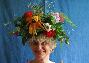 curlin in flowercrown